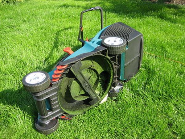 Как отремонтировать газонокосилку своими руками